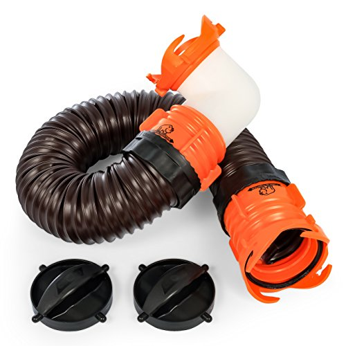 Camco RhinoFLEX 3' Tote Tank Sewer Hose Kit