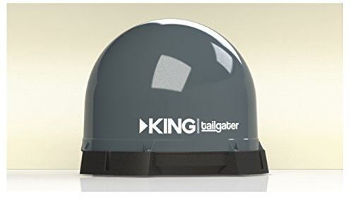 KING VQ4500 Tailgater PortableRoof Mountable Satellite TV Antenna
