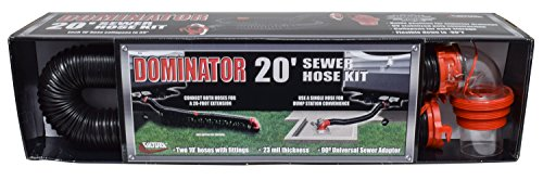 Valterra D04-0275 Dominator Sewer Hose Kit