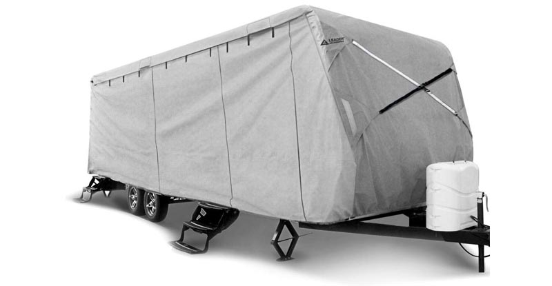 Leader Accessories Travel Trailer RV Cover