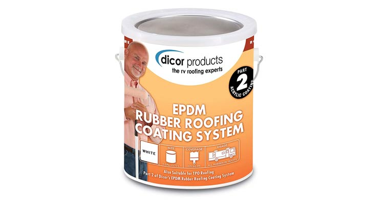 Dicor RP-CRC- 1 Rubber Roof Acrylic Coating