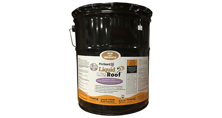 Liquid Roof RV Roof Repair Liquid EPDM Coatings