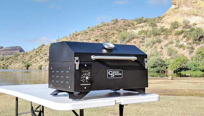 Country Smokers CSPEL015010497 Wood Pellet Grill and Smoker