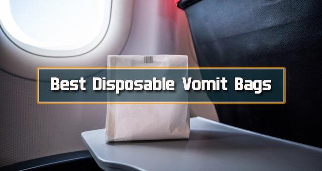Best Disposable Vomit Bags
