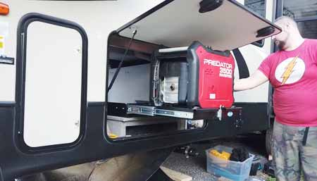 quietest generator for rv camping